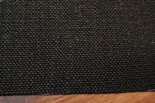 Black linen canvas buckram 650g 0,5m