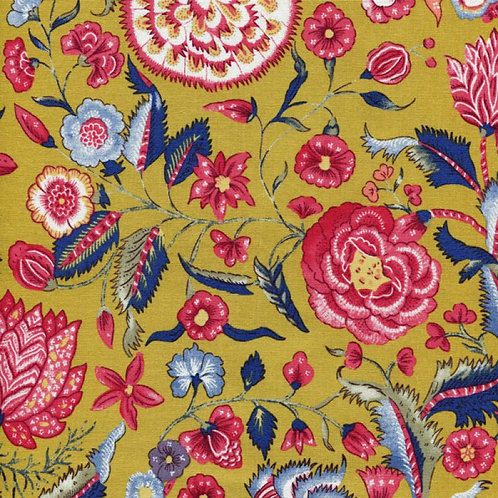 Dutch heritage chintz- yellow 5000
