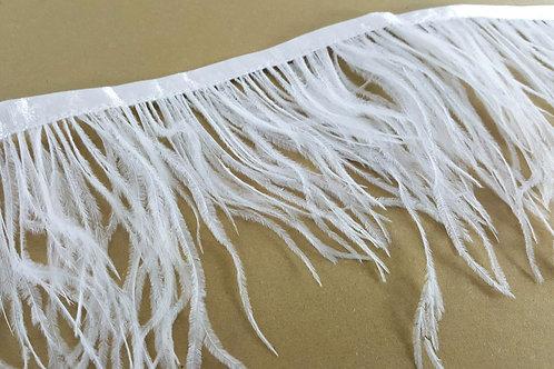 Ostrich feather trim