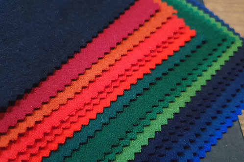 Fabric swatch- Norwegian plain wools