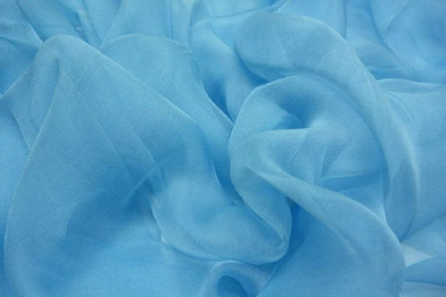 Silk Chiffon 40g-light blue