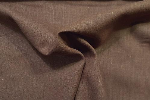 Medium prewashed rami linen 238g-brown 2