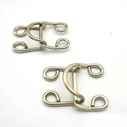 Big Hook and eye 16mm 2pcs
