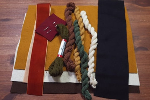 Embroidery kit- autumn colors