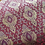 Thumbnail: Foux silk brocade-gold on pink red