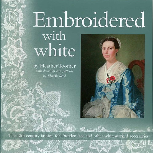 Embroidered with white-Heather Toomer