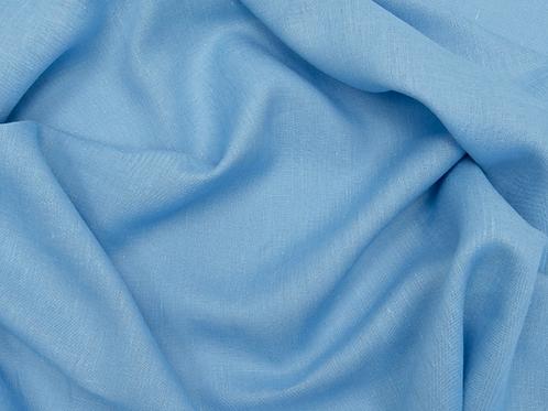 Medium prewashed linen 185g-light blue