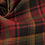 Thumbnail: Tartan wool fabric-red with yellow & black