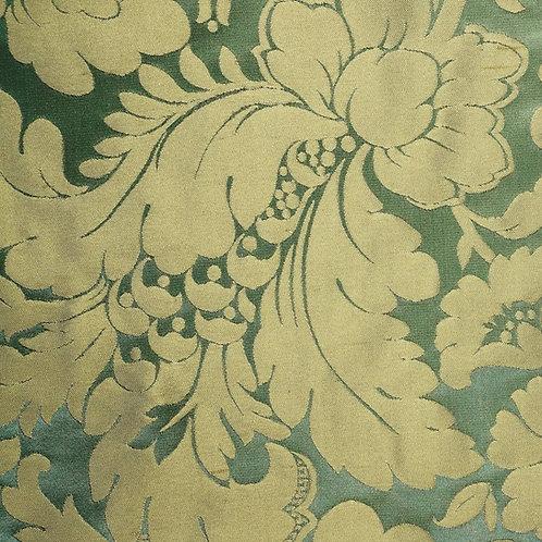 Silk damast-green