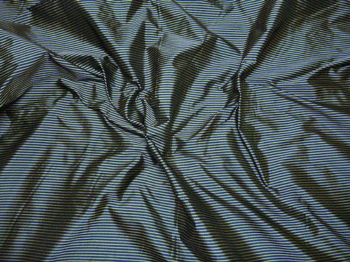 Silk-small stripes-blue/yellow