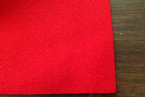Extra fine English broadcloth- Bright red