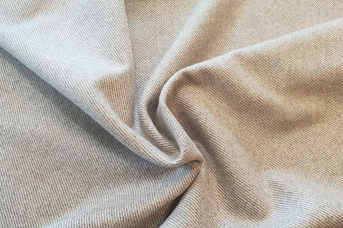 Wool twill-Gray/beige