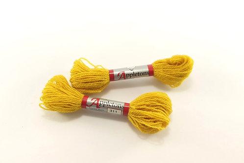 Appleton crewel-yellow 311