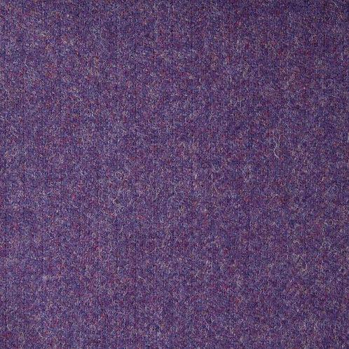 Herringbone wool fabric 100%-purple