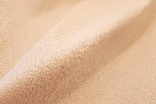Handmade diamond twill towel linen -creme white