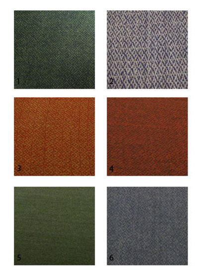 Fabric swatch-Diamond twill, two colored