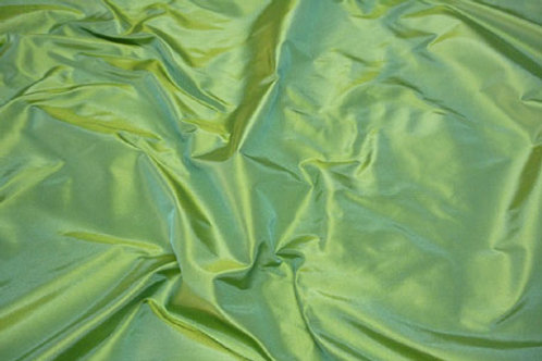 Silk taffeta-light green