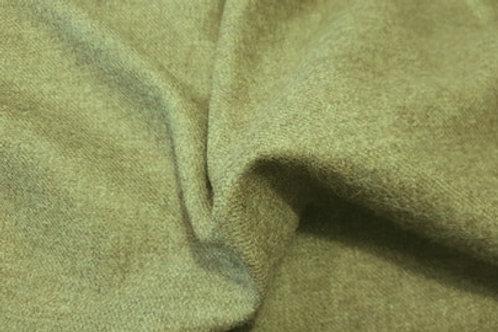 English wool twill- gray green