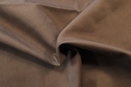 Cotton twill-gray brown