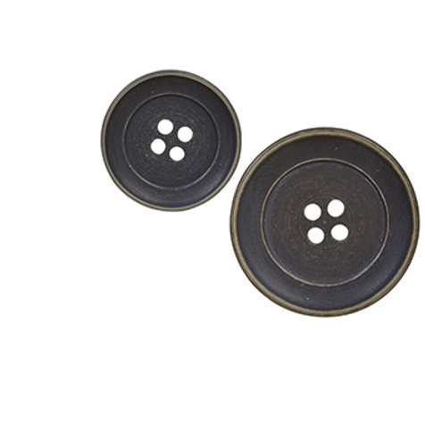 Button- vintage look 20mm
