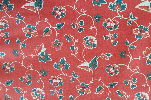 Swedish cotton print-kattun från Lillhärdal