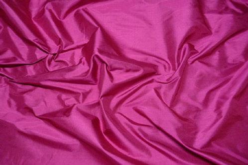 Silk taffeta-Cerise