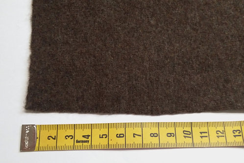 Recycled broadcloth-dark brown