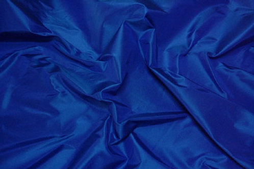 Silk taffeta-blue