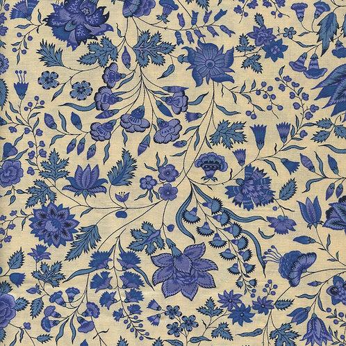 Dutch heritage chintz- china blue 1025