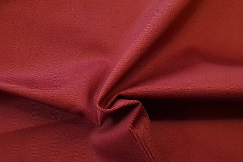 Cotton twill-dark red