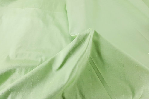 Dupion thai silk-light green