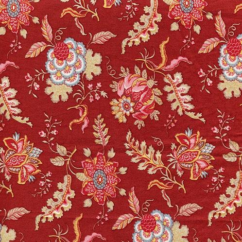Dutch heritage indienne chintz- red 1022