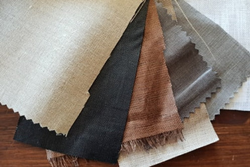 Vaxed calendered linen
