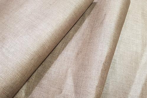 Vaxed calendered linen- natural linen