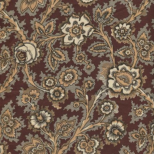 Dutch heritage chintz- brown 4020