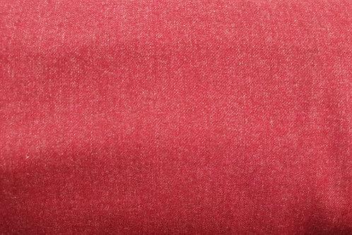 Thin Wool twill A-rasberrry red