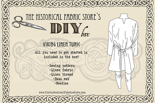 DIY giftbox- viking linen tunic