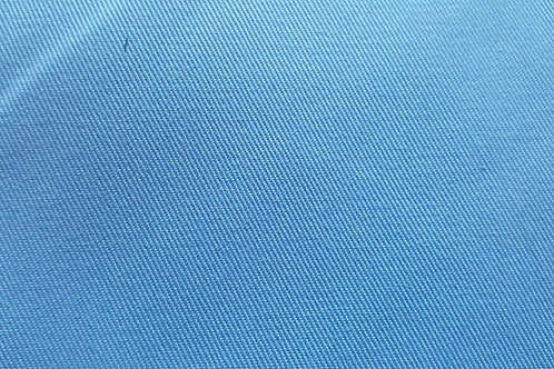 Cotton twill-blue