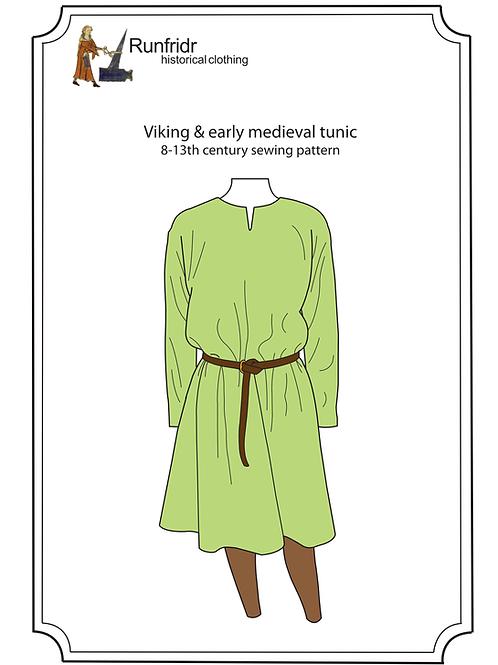 DIGITAL PDF PATTERN - viking tunic