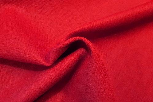 Twill melton-red 03