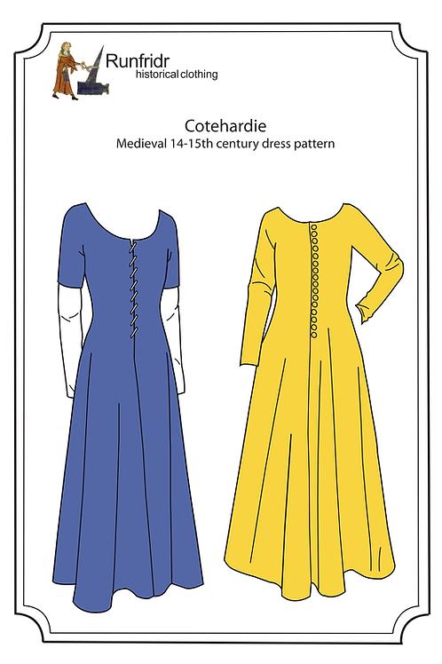 Cotehardie-medieval dress