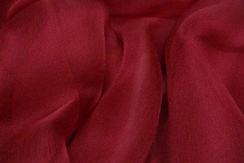 Silk Chiffon 40g-dark red