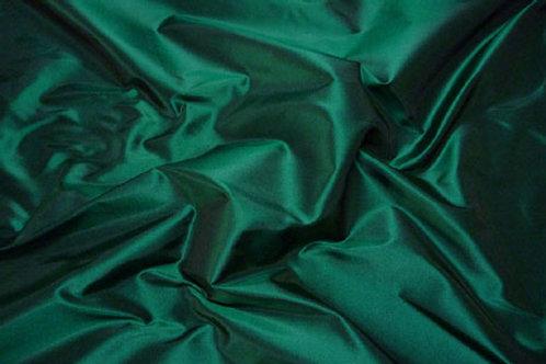 Silk taffeta-forest green