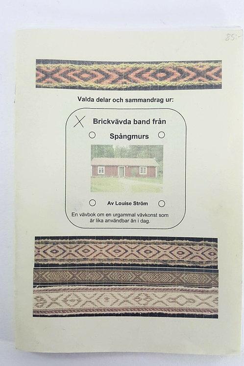 Card weaving-swedish