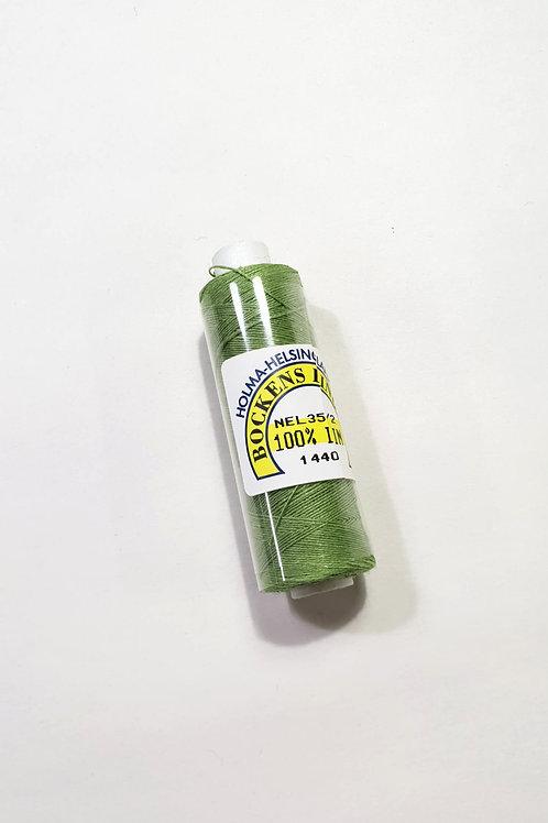 Swedish linen thread 35/2- light green 1440