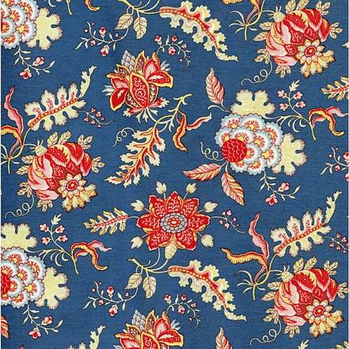 Dutch heritage chintz- blue 1022