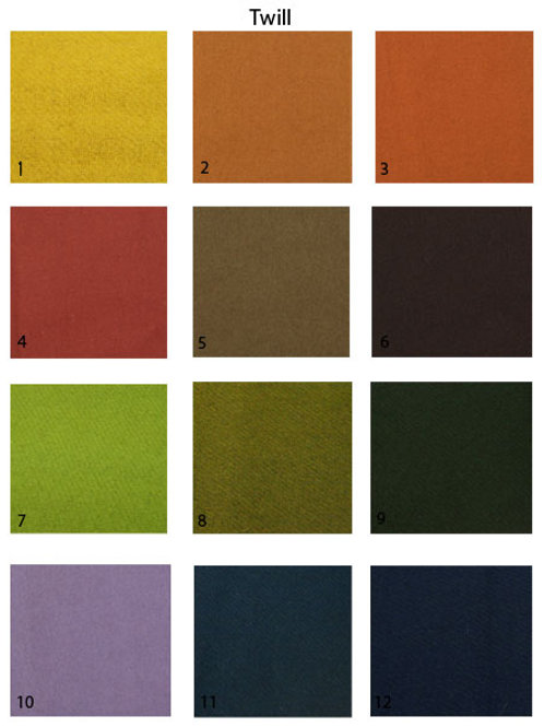 Fabric swatch-Wool twill