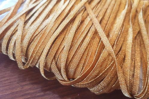 Vintage metal ribbon 4mm- gold