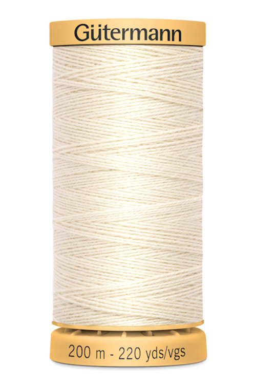 Tacking thread cotton