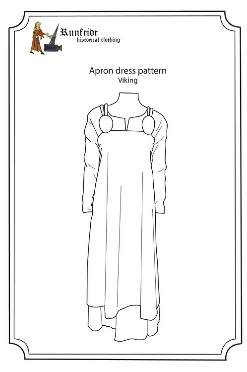 Viking apron dress Hedeby